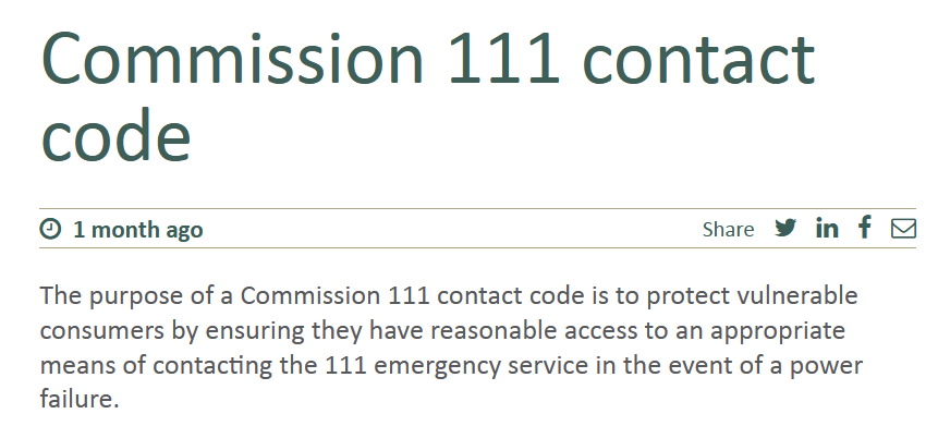 The Commerce Commission Wants Feedback on 111 Access